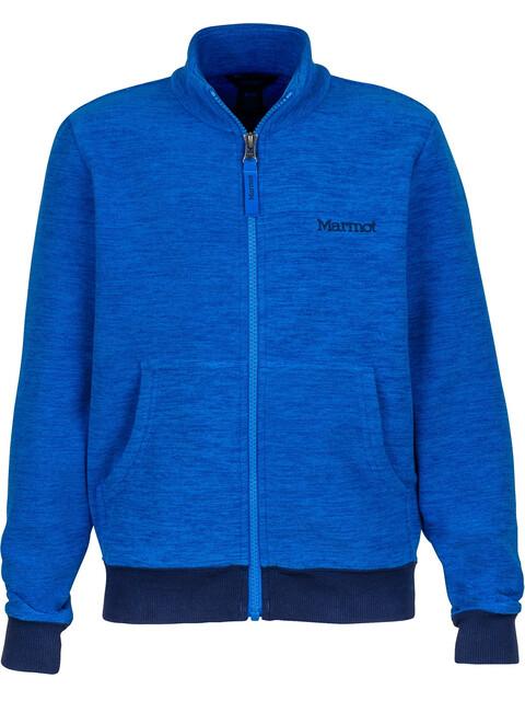 Marmot Boys Couloir Fleece Jacket True Blue/Arctic Navy